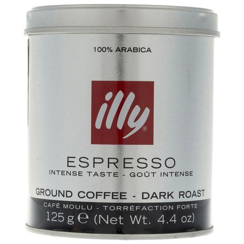 پودر قهوه دارک رست اسپرسو ایلی مقدار 125 گرم