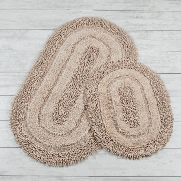 پادری فرش دبلیو اند بی هوم مدل بیضی 01 بسته دو عددی
