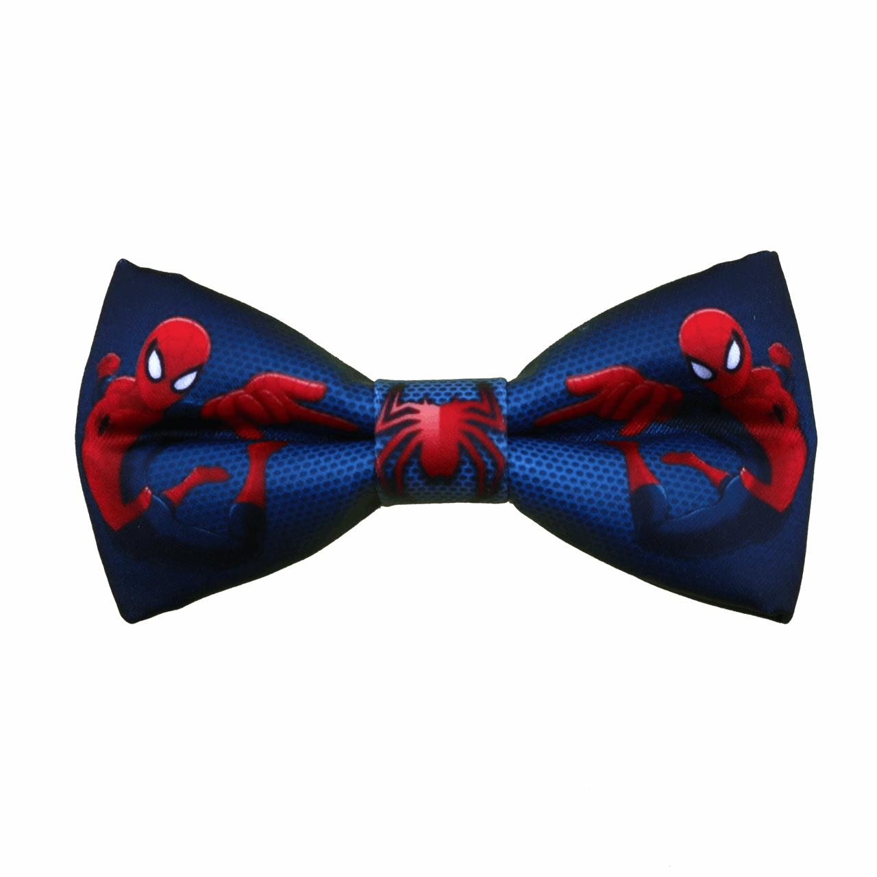 پاپیون پسرانه طرح مرد عنکبوتی