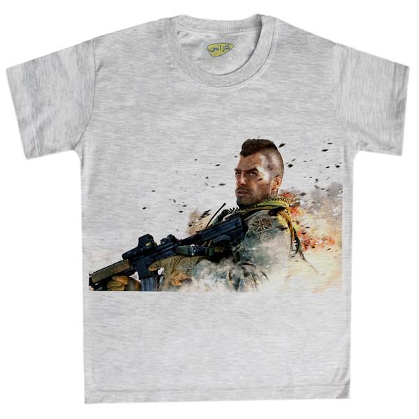 تی شرت پسرانه کارانس طرح کال آف دیوتی مدل BTM-1169