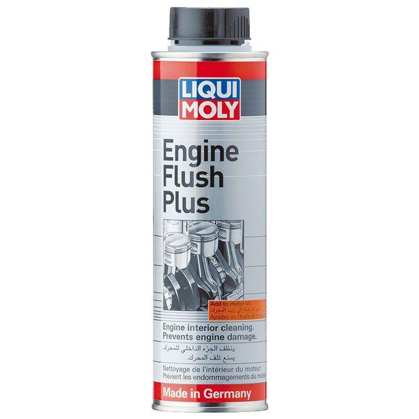 مکمل روغن موتور  لیکومولی مدل Engine flush plus حجم 300 میلی لیتر