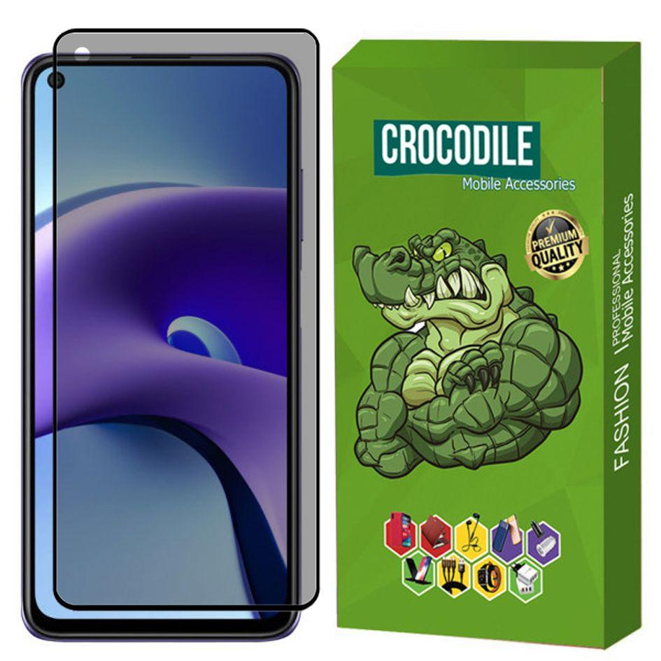 محافظ صفحه نمایش حریم شخصی کروکودیل مدل C-PRIV مناسب برای گوشی موبایل شیائومی Redmi Note 9T