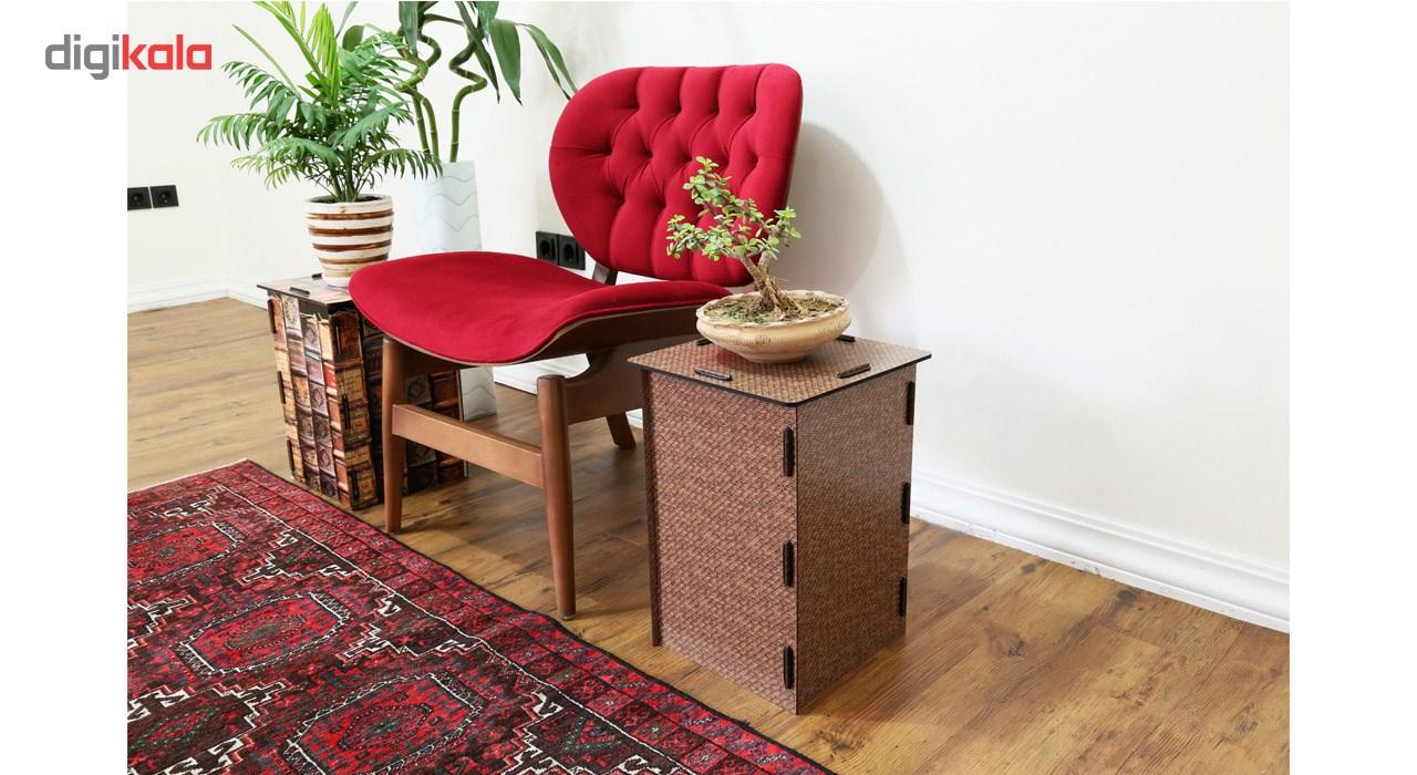 قیمت                      میز و صندلی چند منظوره  پرسناژ مدل حصیر F05