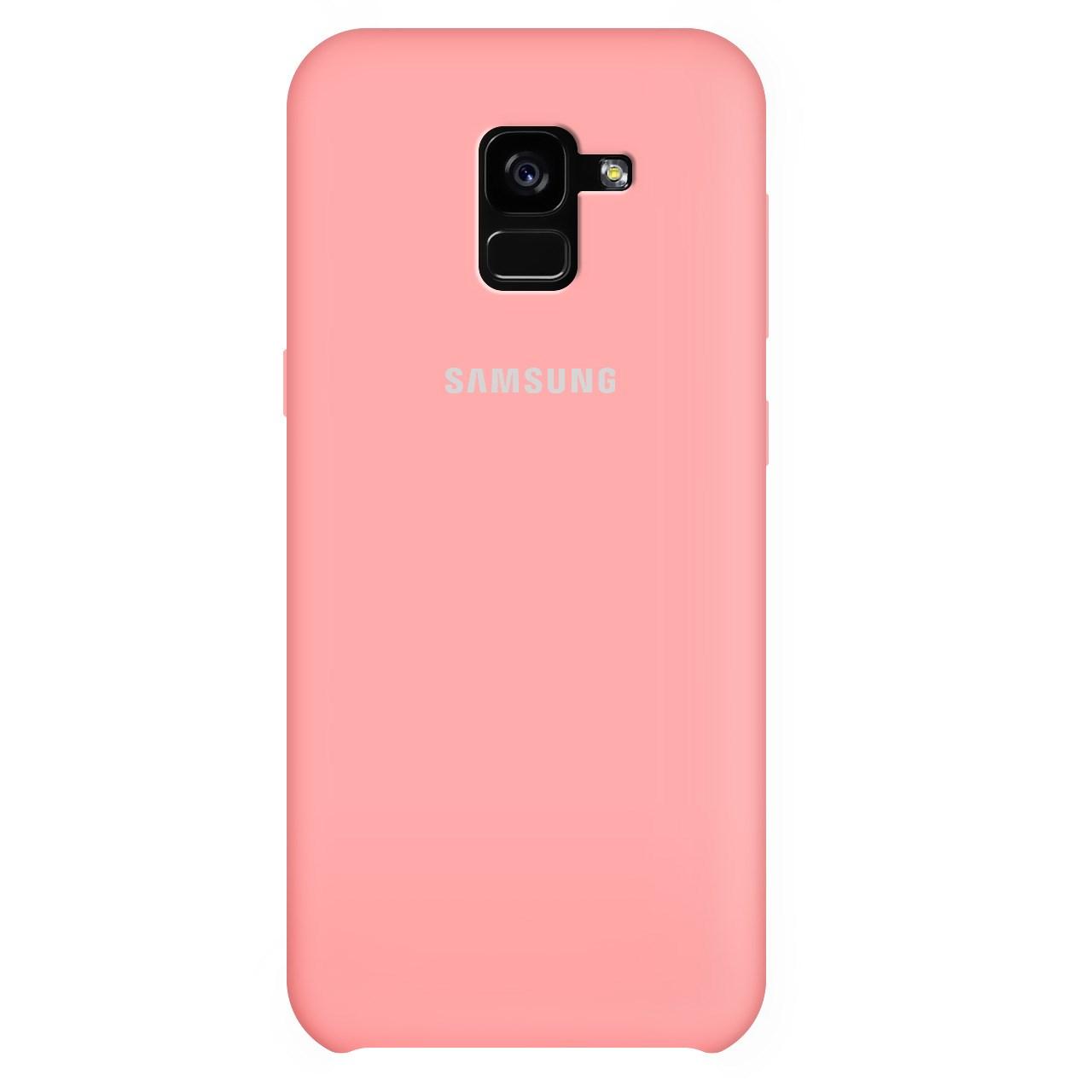 کاور سیلیکونی مناسب برای گوشی موبایل سامسونگ Galaxy A8 Plus 2018