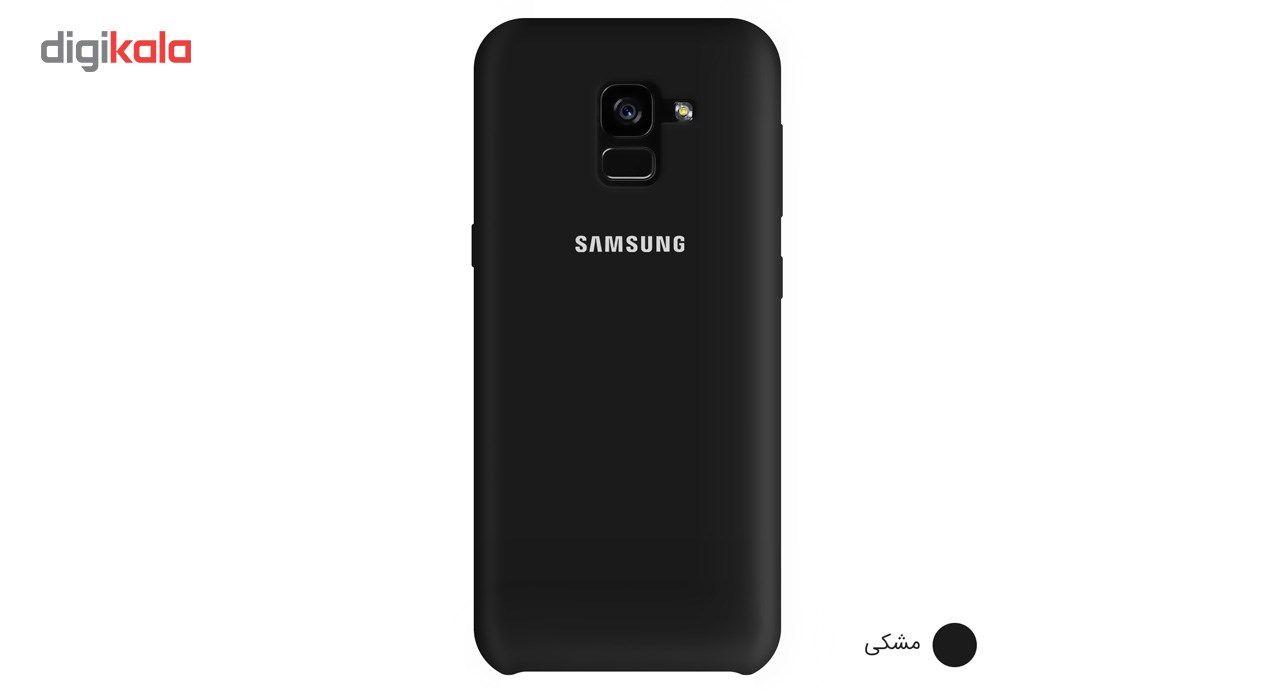 کاور سیلیکونی مناسب برای گوشی موبایل سامسونگ Galaxy A8 Plus 2018 main 1 2