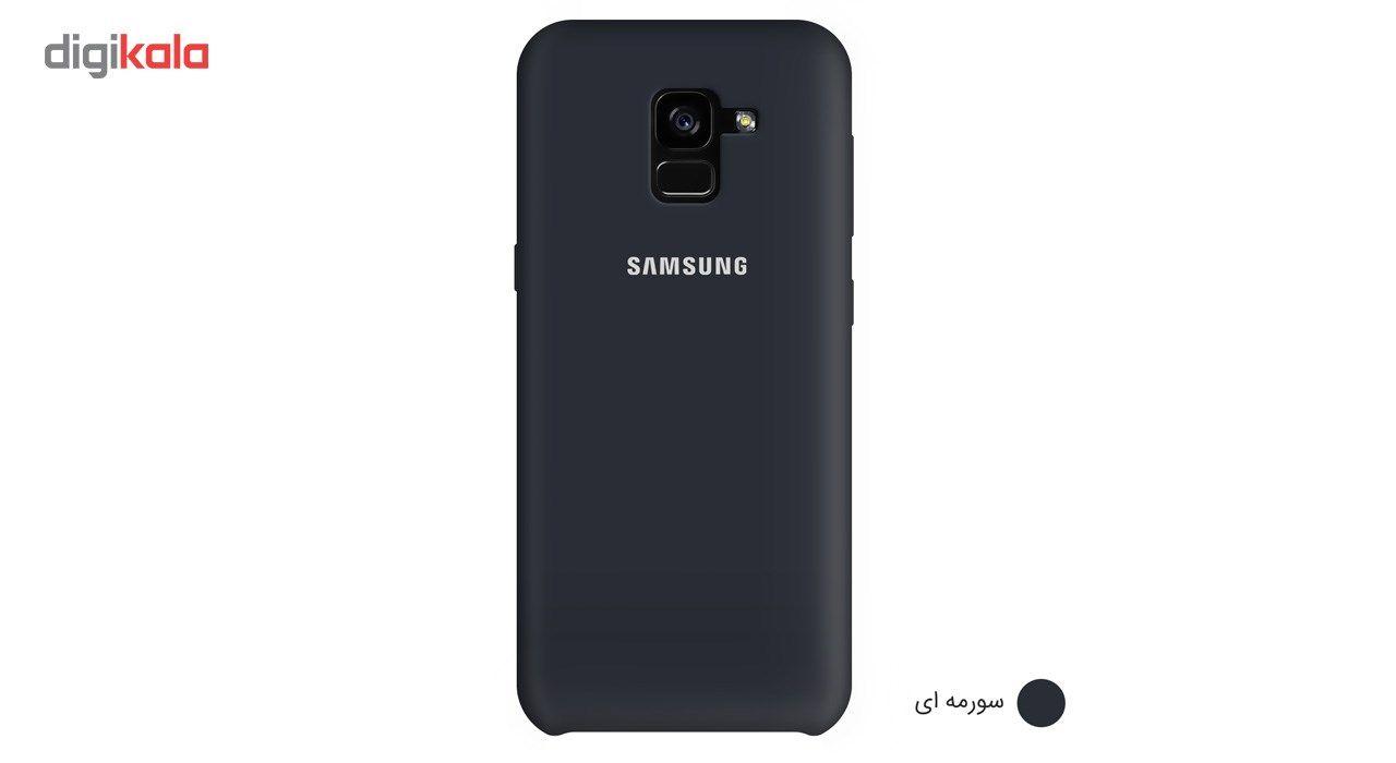 کاور سیلیکونی مناسب برای گوشی موبایل سامسونگ Galaxy A8 Plus 2018 main 1 4