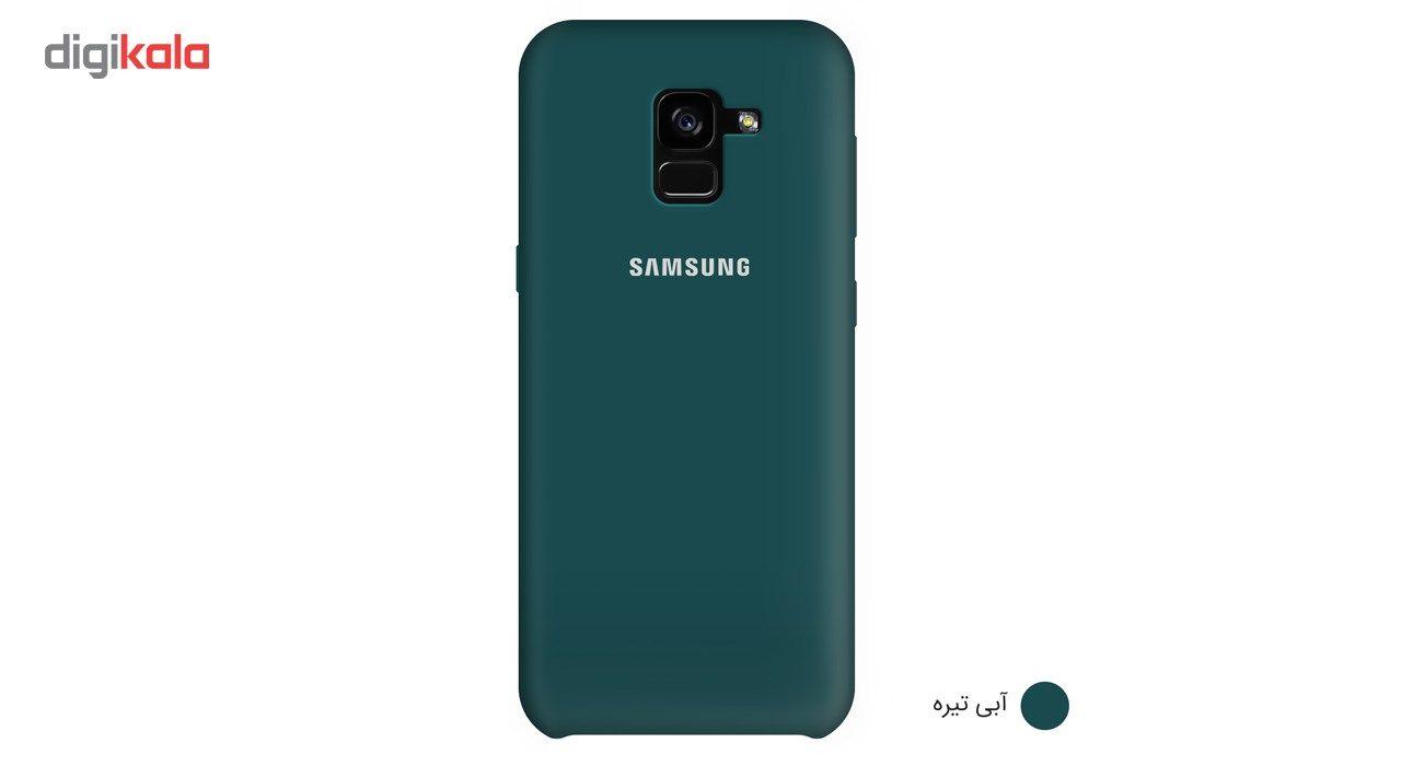 کاور سیلیکونی مناسب برای گوشی موبایل سامسونگ Galaxy A8 Plus 2018 main 1 5
