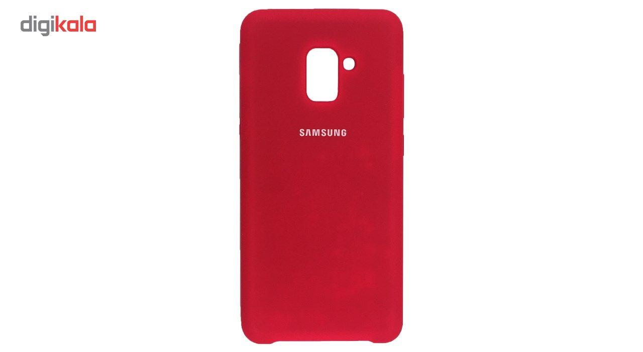 کاور سیلیکونی مناسب برای گوشی موبایل سامسونگ Galaxy A8 Plus 2018 main 1 6