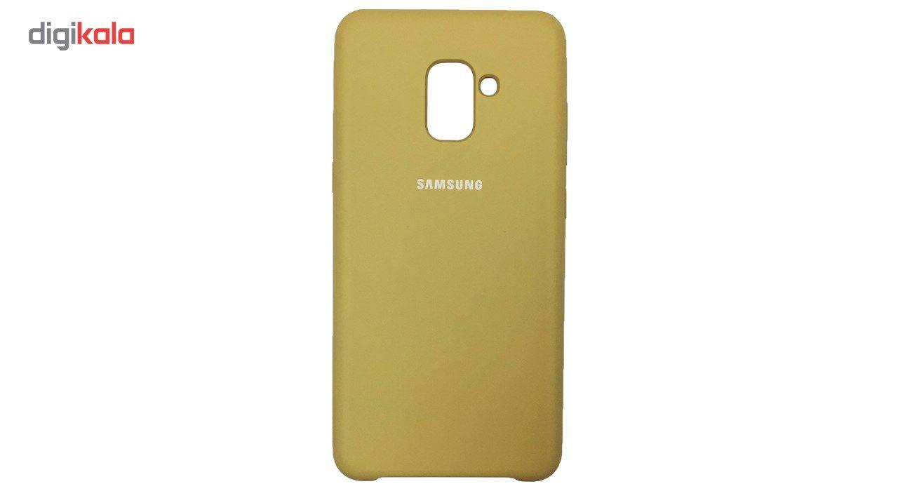 کاور سیلیکونی مناسب برای گوشی موبایل سامسونگ Galaxy A8 Plus 2018 main 1 7