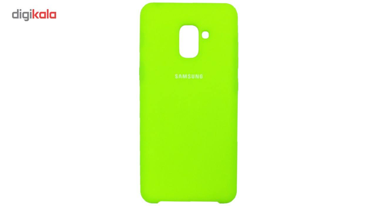 کاور سیلیکونی مناسب برای گوشی موبایل سامسونگ Galaxy A8 Plus 2018 main 1 8