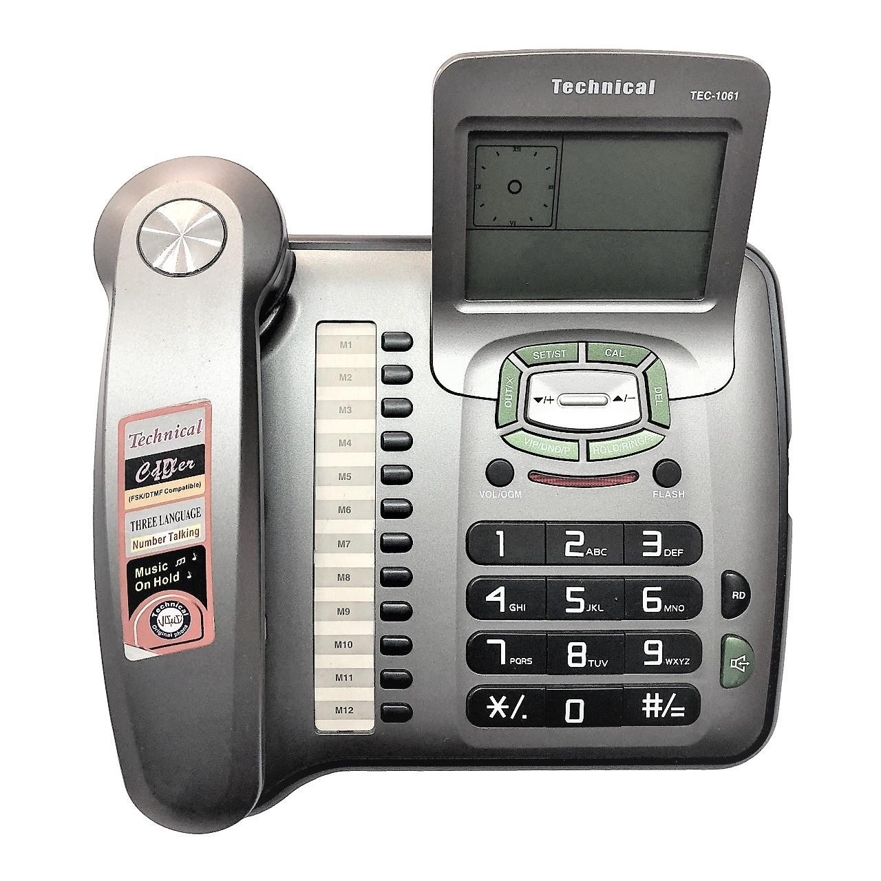 تلفن تکنیکال مدل TEC-1061