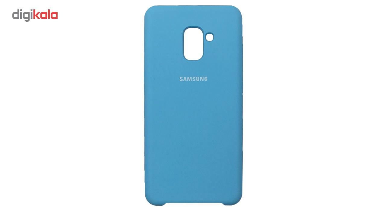 کاور سیلیکونی مناسب برای گوشی موبایل سامسونگ Galaxy A8 Plus 2018 main 1 10