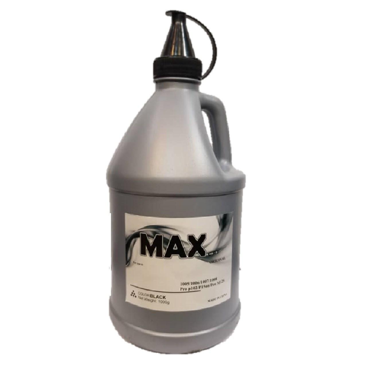 پودر شارژ مشکی 1000 گرمی مکس سی.پی.تی مدل 1005