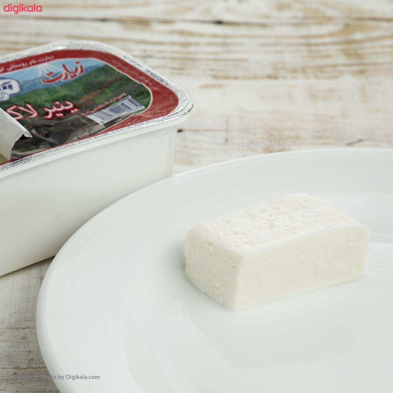 پنیر لاکتیکی زیارت پگاه مقدار 280 گرم main 1 6