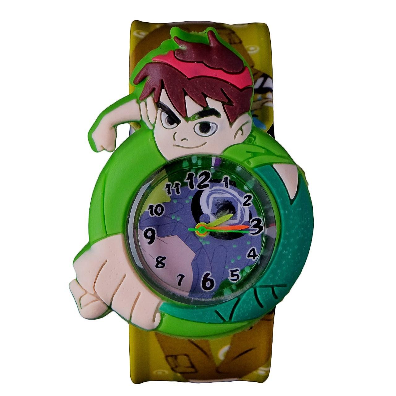 ساعت مچی عقربه ای بچگانه مدل بن تن کد 01 35