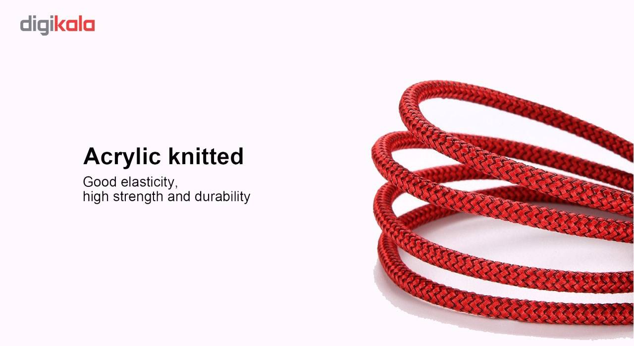کابل تبدیل USB به لایتنینگ آیماس مدل Nylon به طول 1.8 متر main 1 6