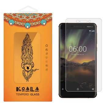 محافظ صفحه نمایش شیشه ای کوالا مدل Tempered مناسب برای گوشی موبایل نوکیا 6 2018