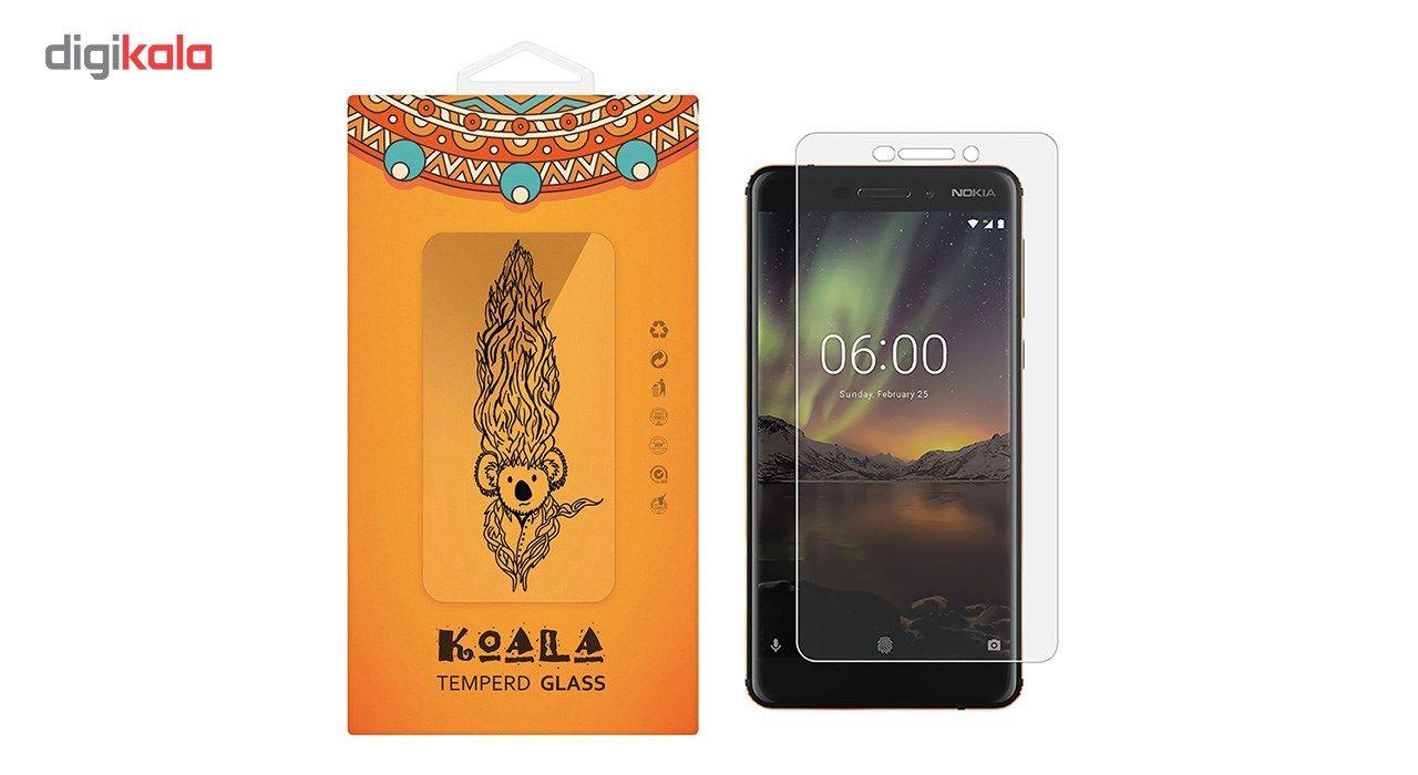 محافظ صفحه نمایش شیشه ای کوالا مدل Tempered مناسب برای گوشی موبایل نوکیا 6 2018 main 1 1