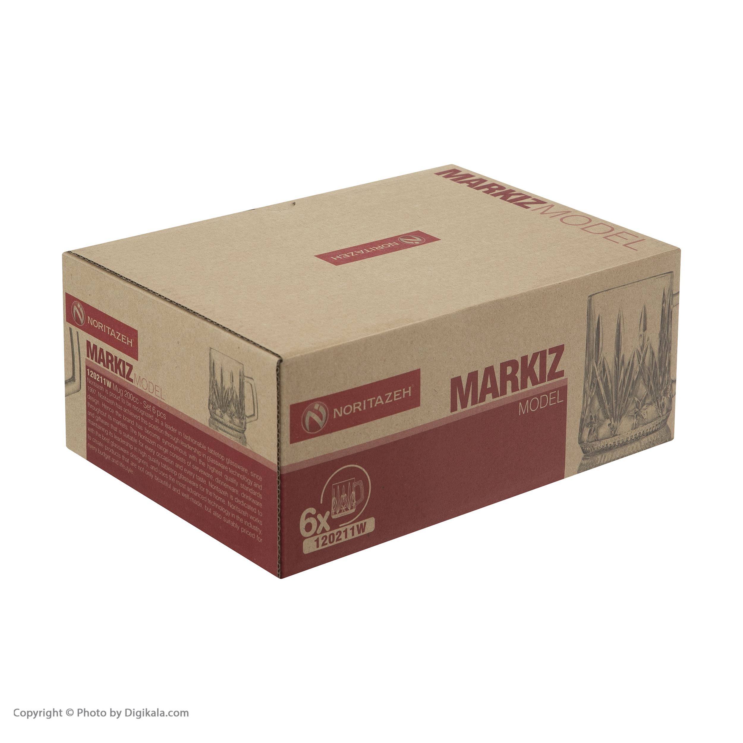 فنجان نوری تازه مدل Markiz کد 120211W بسته 6 عددی main 1 8