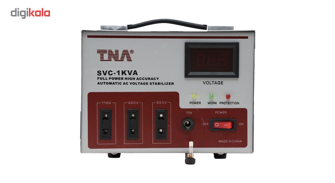استابلایزر  سرووموتوری تی ان ای مدل SVC 1KVA