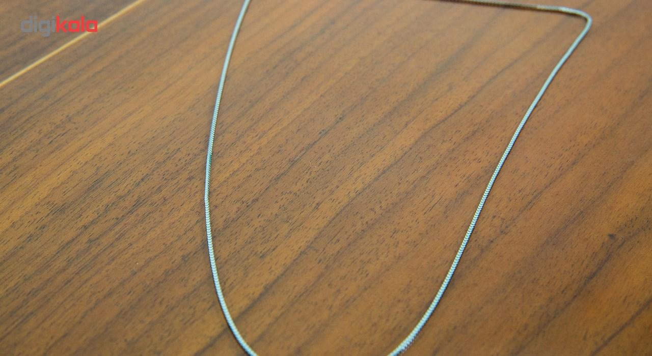 زنجیر نقره بهارگالری مدل ونیزی کد 40
