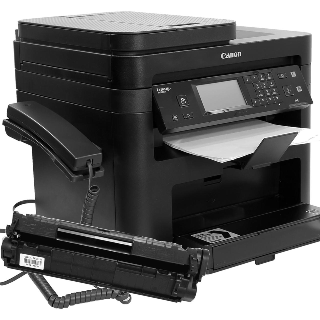 خرید پرینتر لیزری چندکاره کانن مدل imageCLASS MF236n به همراه تونر اضافه
