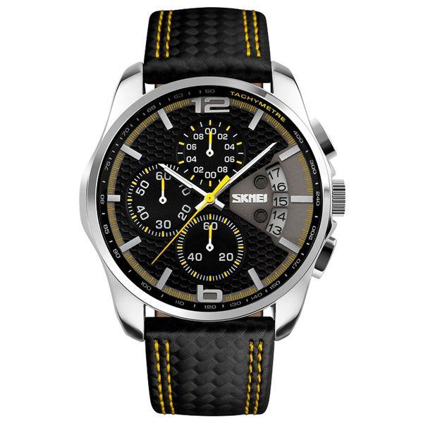 ساعت مچی عقربه ای مردانه اسکمی مدل 9106 کد 04