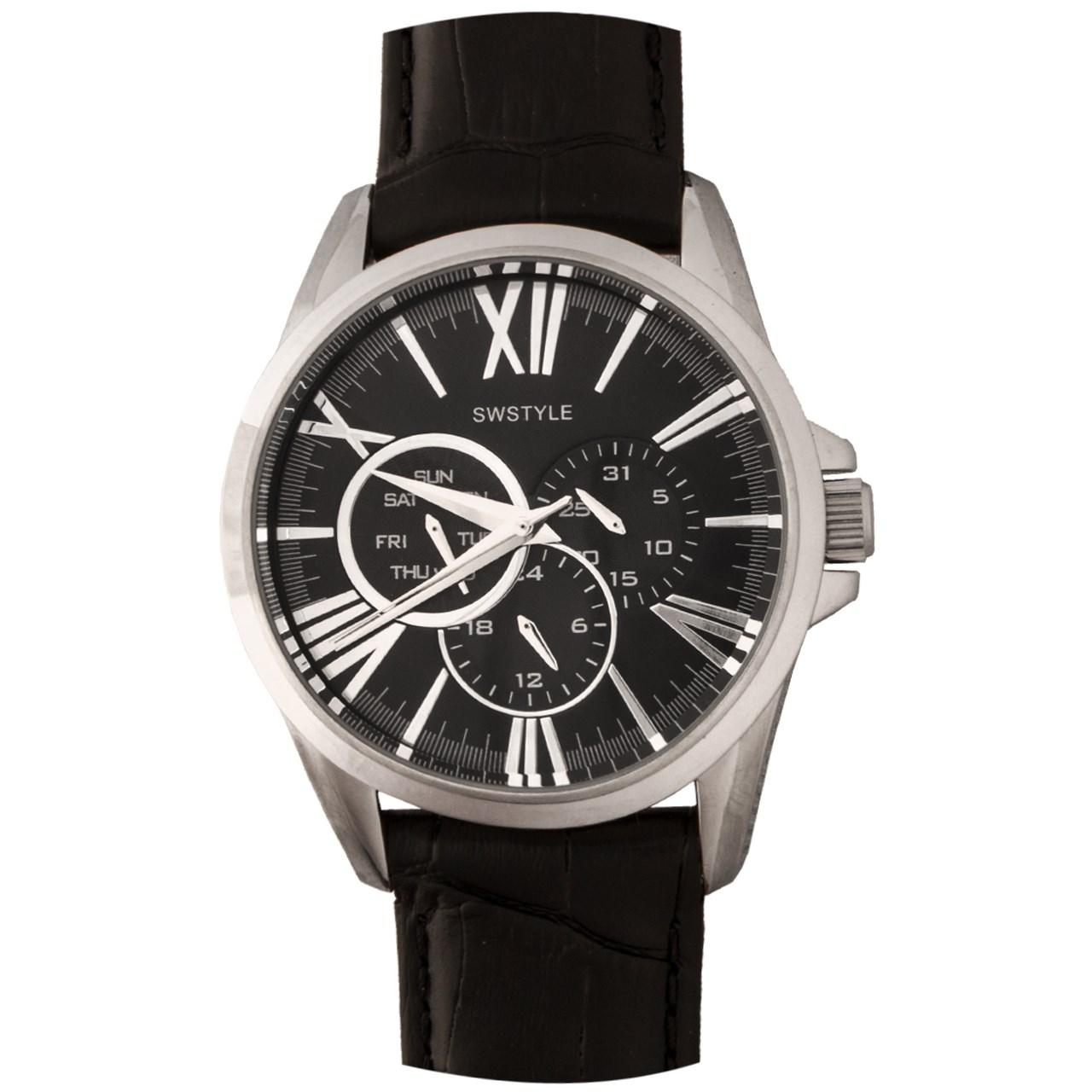 ساعت مچی عقربه ای مردانه سوییستایل مدل 1042