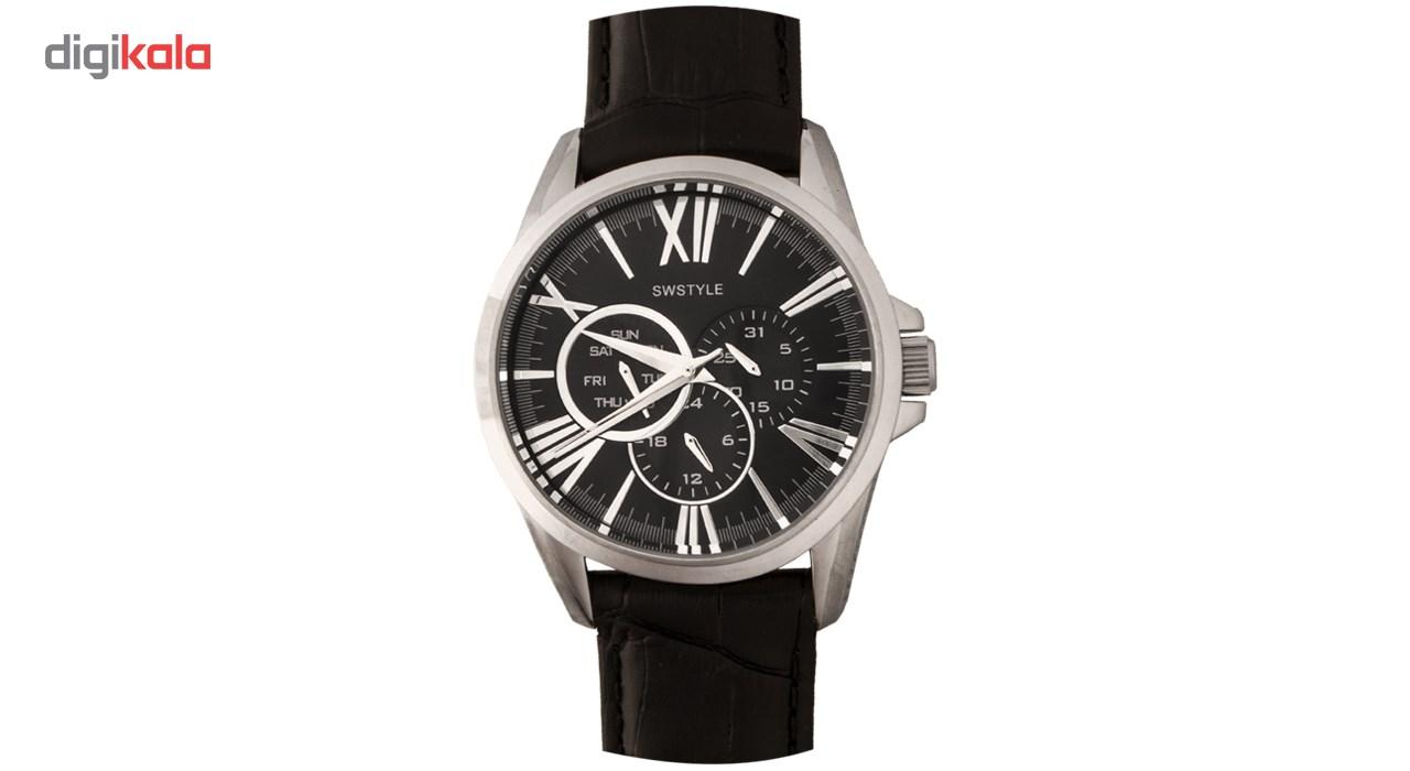 خرید ساعت مچی عقربه ای مردانه سوییستایل مدل 1042