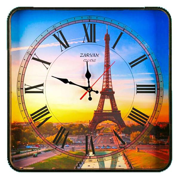ساعت دیواری گلدن  طرح برج ایفل کد AL-10010125