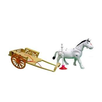 اسباب بازی مدل اسب و گاری کد 3188