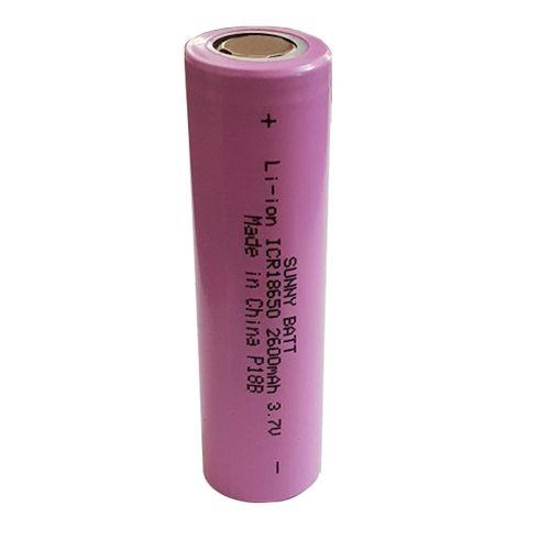 باتری قابل شارژ سایز 18650 سانی بت ظرفیت 2600 میلی آمپر