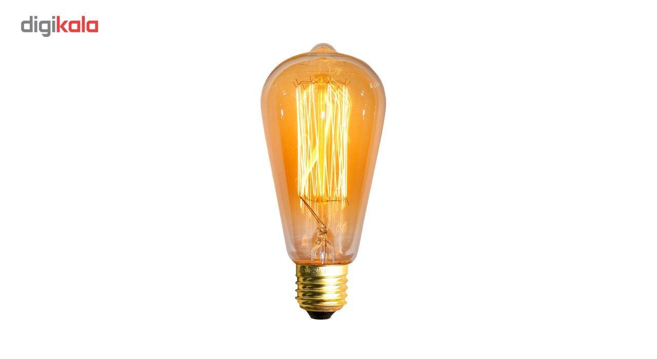 لامپ فیلامنتی انگاره مدل ST64  خطی پایه E27 main 1 1