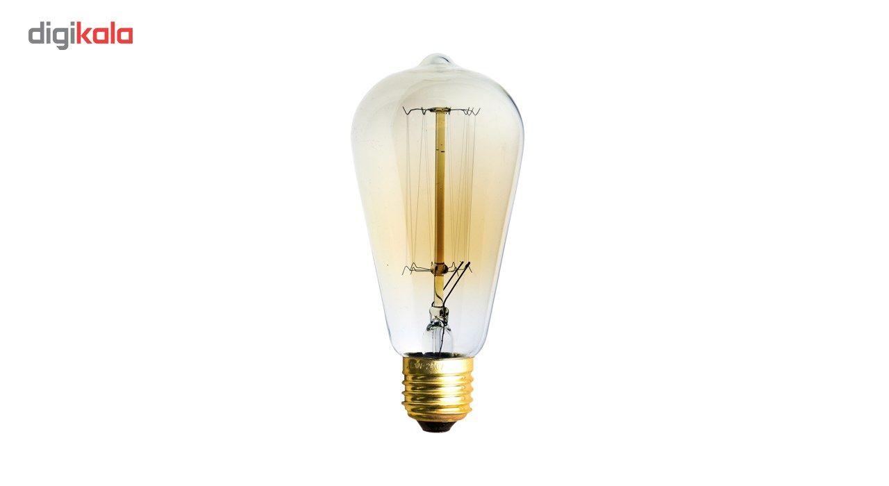 لامپ فیلامنتی انگاره مدل ST64  خطی پایه E27 main 1 2