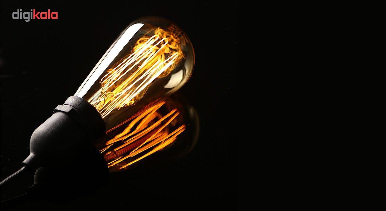 لامپ فیلامنتی انگاره مدل ST64  خطی پایه E27 main 1 3