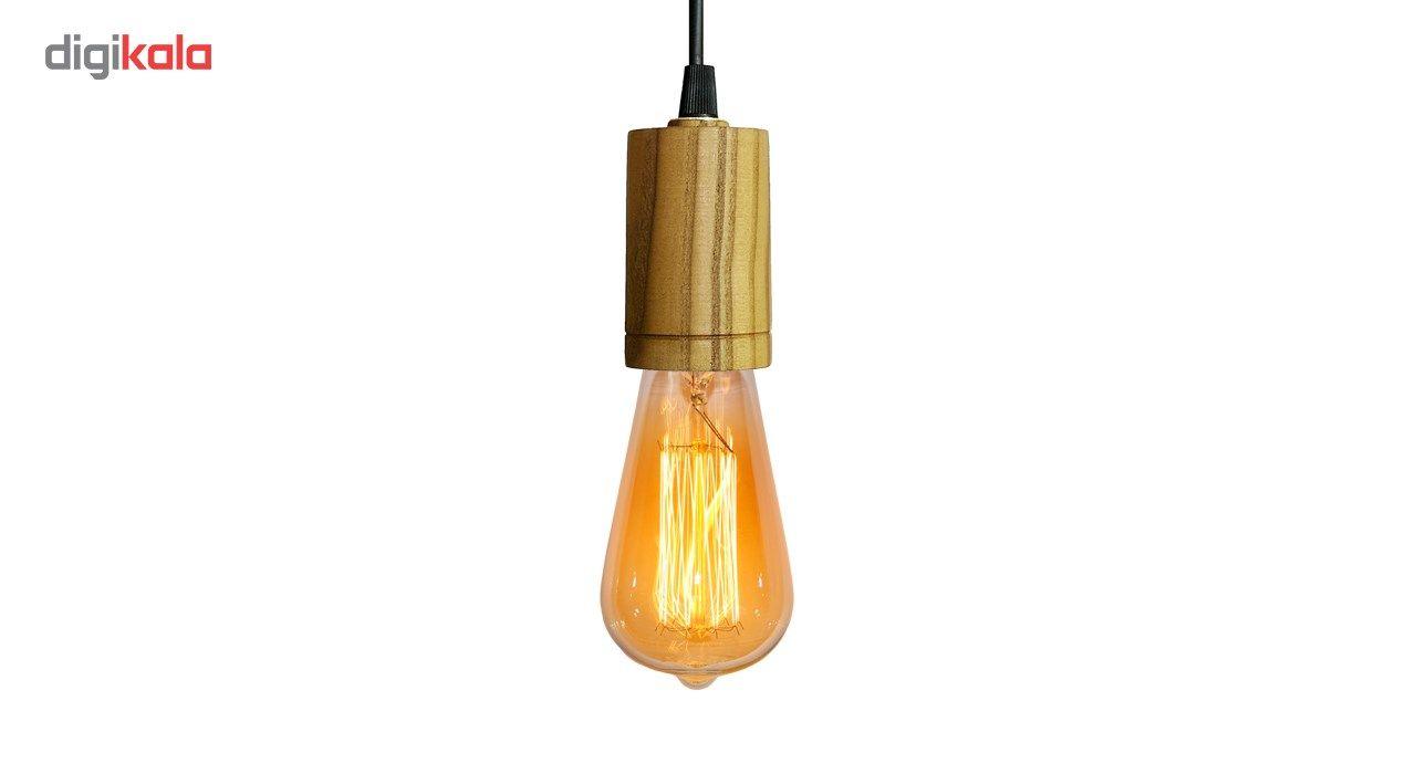 لامپ فیلامنتی انگاره مدل ST64  خطی پایه E27 main 1 4