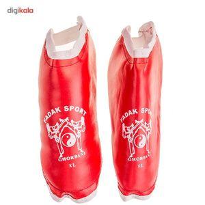 پوشش پا تکواندو فدک اسپرت سایز XLarge  Fadak Sport Teakwondo Socks Size XLarge