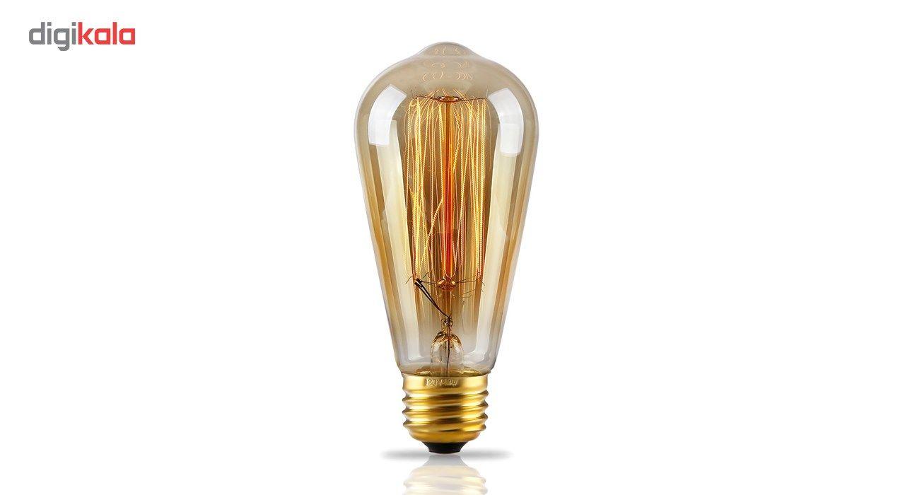 لامپ فیلامنتی انگاره مدل ST64  خطی پایه E27 main 1 6