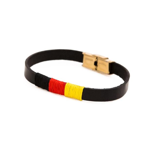 دستبند نوژین مدل پرچم آلمان 1102