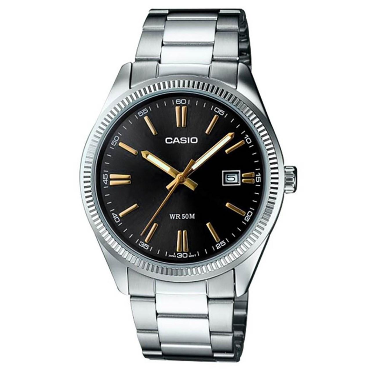 ساعت مچی عقربه ای مردانه  کاسیو مدل mtp-1302d-1a2vdf 22