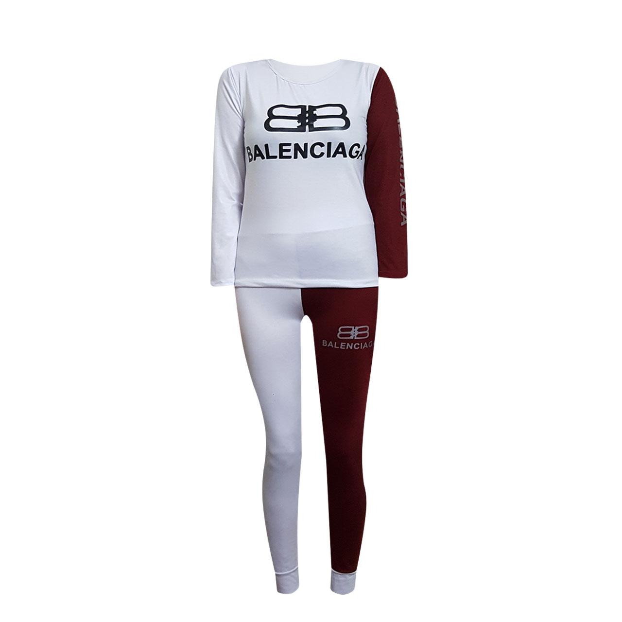 ست تی شرت و لگینگ ورزشی زنانه مدل KP-02