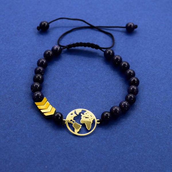 دستبند طلا 18 عیار زنانه کانیار گالری مدل B46
