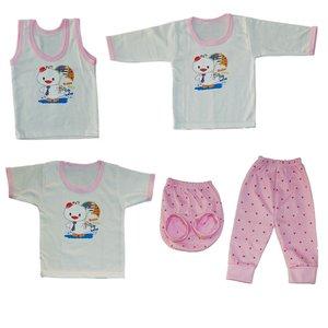 ست 5 تکه لباس نوزادی کد 5555SOGO