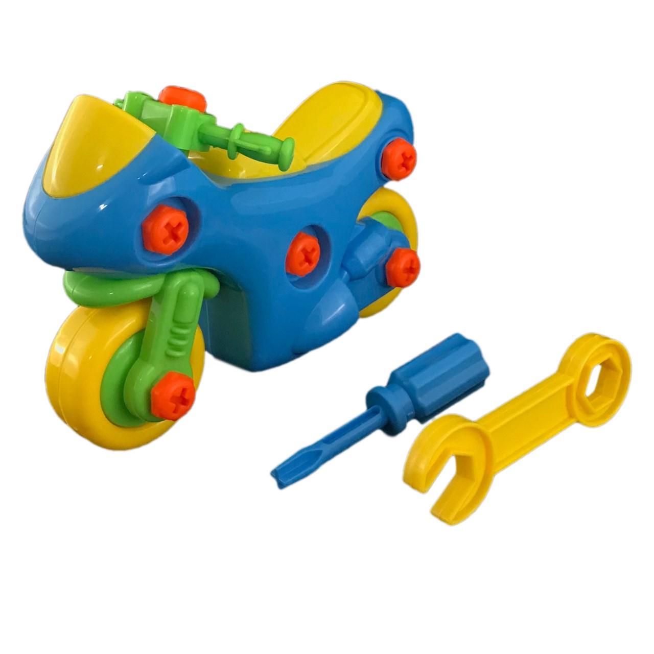 ساختنی مدل موتور اسباب بازی کد 11