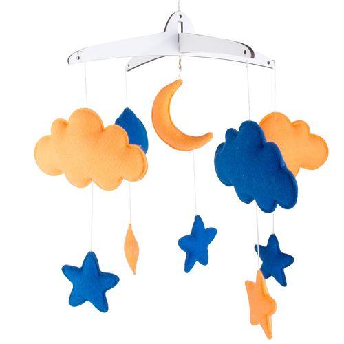 آویز تخت کودک Clouds مدل 010