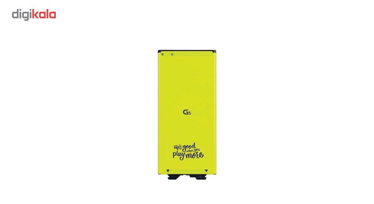باتری موبایل مدل BL-42D1F با ظرفیت 2800mAh مناسب برای گوشی موبایل LG G5 main 1 2