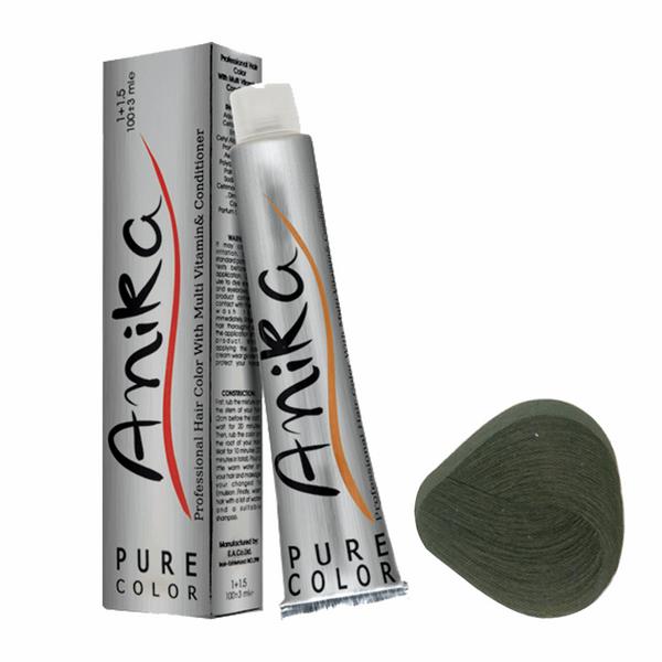رنگ مو آنیکا سری طبیعی مدل قهوه ای خیلی تیره شماره 2