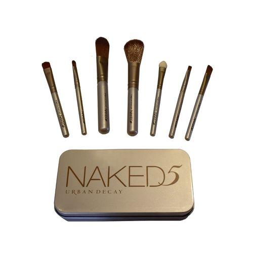 ست براش آرایشی NAKED مدل 5050 مجموعه 7 عددی