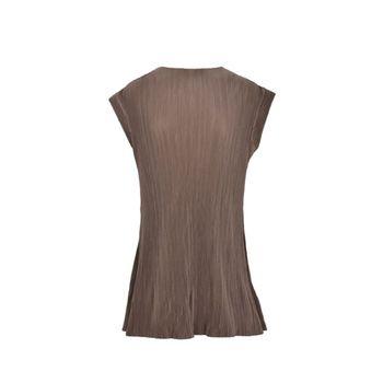پیراهن زنانه بادی اسپینر مدل 2577 کد 1 رنگ قهوه ای