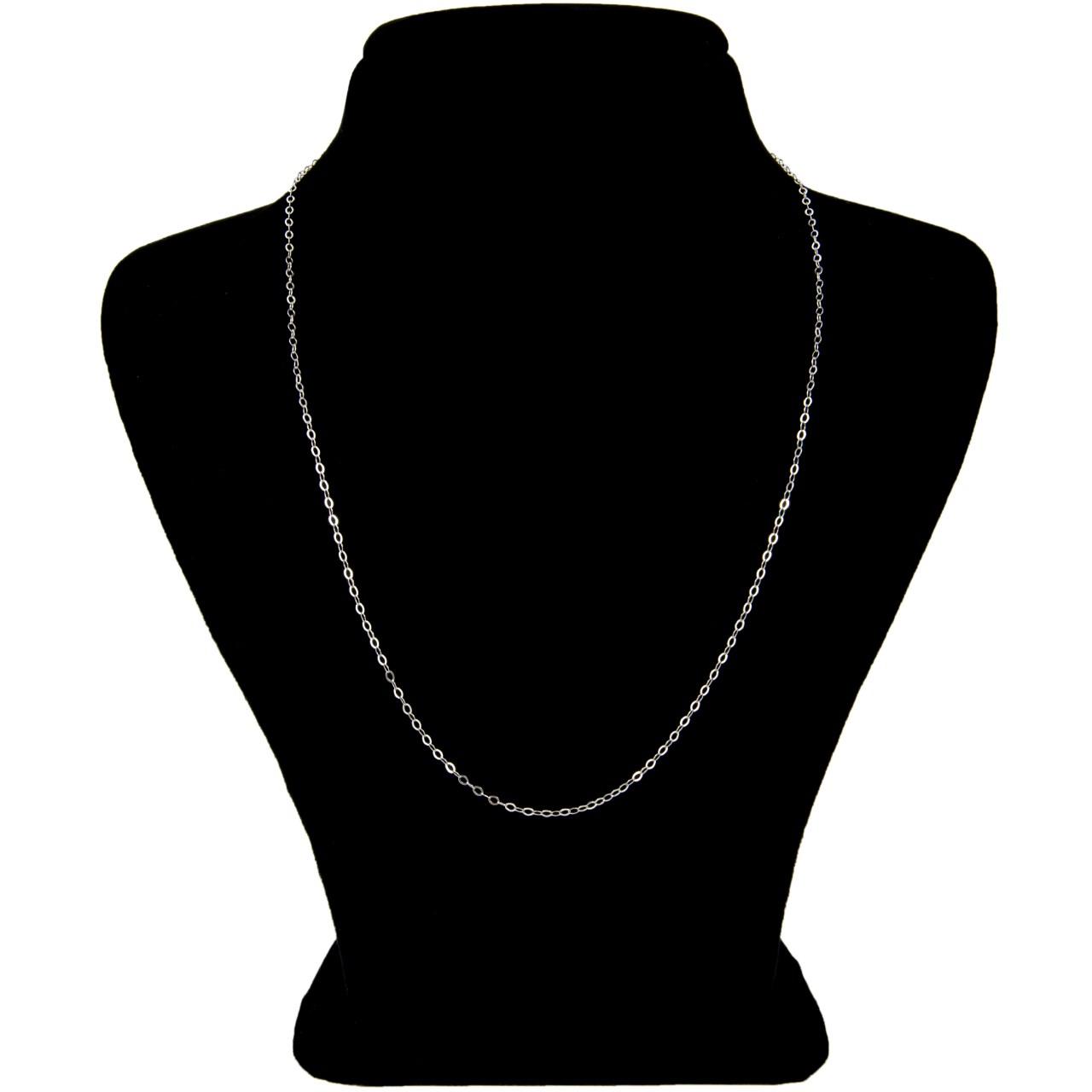 قیمت زنجیر نقره بهارگالری مدل حلقه ای  کد 45